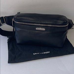 Authentic YSL Saint Laurent bum bag belt fannypack